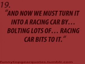Car Racing Quotes Richard hammond · race car