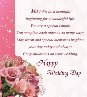 Happy Wedding Day Greetings Card Wishes Quotes Messages Images ...