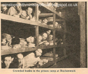 crowded at buchenwald The most famous Holocaust photo of all time is a ...