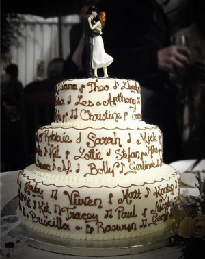 Wedding Cakes wih Quotes pictures Awesome Country Wedding Cakes ...