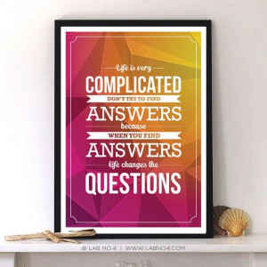 Life is Complicated.. #quotes #motivation #inspirational #typography # ...