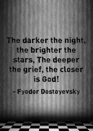 Fyodor Dostoyevsky inspirational quote