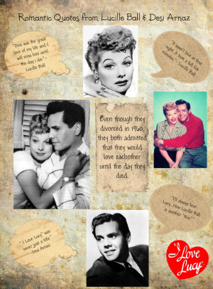 Lucy & Desi Quotes of Love