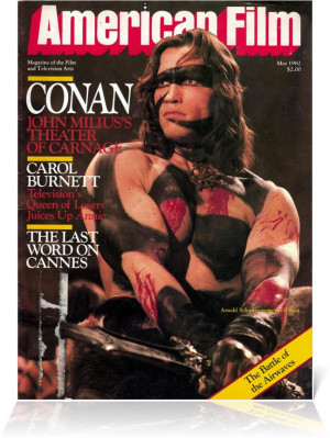Conan the Barbarian - American Film May 1982 (1) Arnold Schwarzenegger