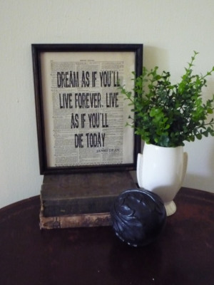 Quote Antique Dictionary Page Quotes Wanna Live