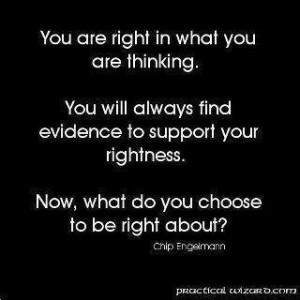 Choose the right rightness