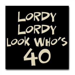 40th birthday sayings funny men