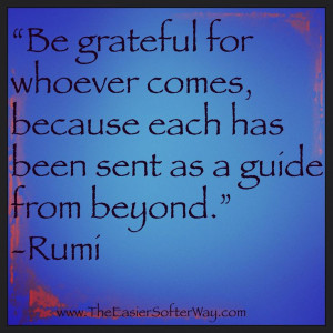 Great quote from Rumi