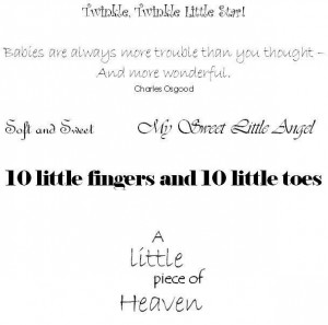 Baby girl quotes for pictures baby scrapbook quotes