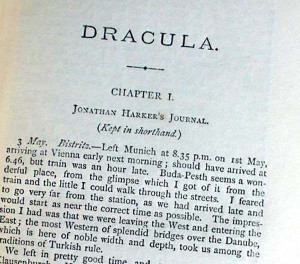 Dracula is an 1897 novel by Irish author Bram Stoker, featuring as its ...