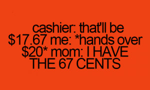 Funny Quotes about Cashier