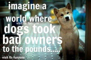 dogs #bad owners #pound