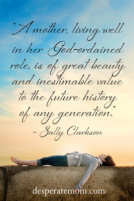 love this quote from Sally: