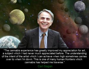 carl sagan quote cannabis
