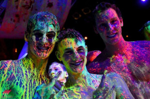paint glow party pic