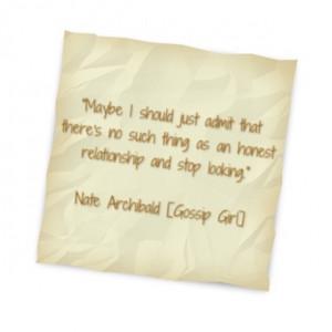 xoxo, Gossip Girl #quote