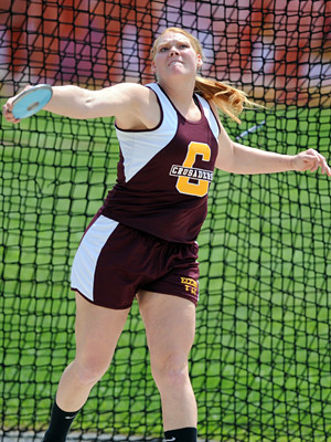 Track And Field Quotes For Throwers An accomplished thrower on her