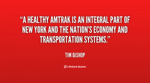 healthy Amtrak is an integral part of New York and the Nation's ...