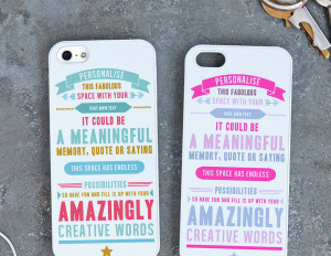 quote iphone case home iphone cases personalised quote iphone case