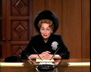 Mommie Dearest - Joan Crawford addresses the board of the Pepsi ...