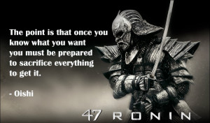 Of discipline, patience and loyalty: 47 Ronin book review