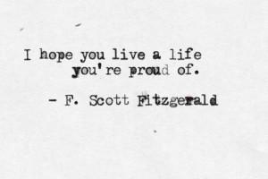Scott Fitzgerald's quote #8