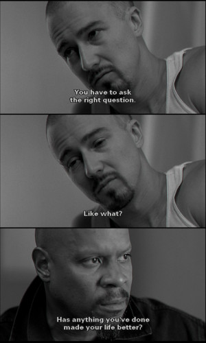 edward norton & avery brooks in american history x
