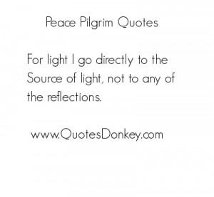 Pilgrim Quotes