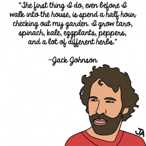 Jack Johnson Talks About Island Life, In Illustrated Form