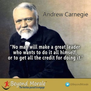 Image – Andrew Carnegie great leader quote