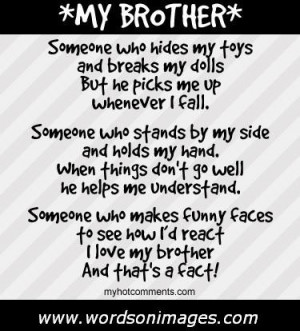 love my brother quotes