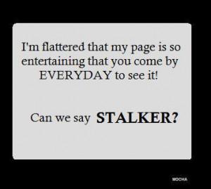 Facebook Stalker Funny Funny facebook stalker quotes
