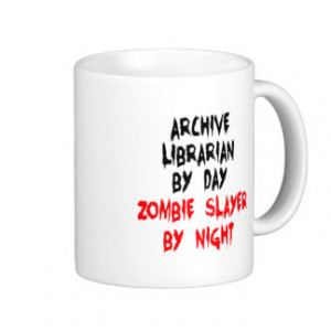 Funny Librarian Quotes Mugs