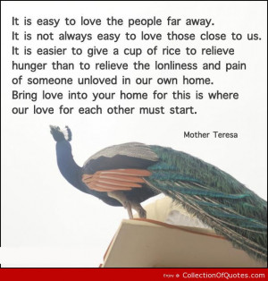 Mother Teresa Quotes About Pain