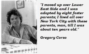 Gregory corso quotes 2