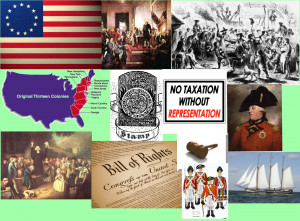 Thirteen Colonies Flag