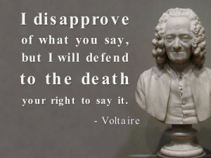 Voltaire Quotes I Disapprove Of What You Say