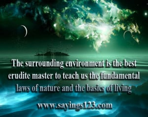 ... The Fundamental Laws Of Nature And The Basics Of Living Nature Quote