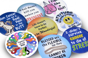 Home » Cancer Fundraising » Cancer Button Sayings