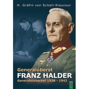 Generaloberst Franz Halder Generalstabschef 1938 1942