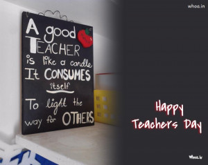 happy teachers day quotes on a blackboard, happy teachers day, 5th ...