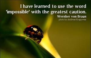 Wernher von Braun Quotes (Images)