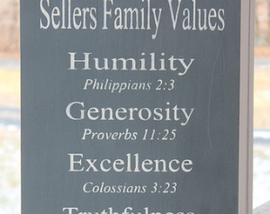Wood Sign, Christian Family Rules, Family Rules Wood Sign, Bible ...