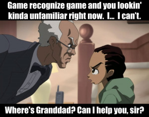 Boondocks Quotes Boondocks Quotes Boondocks
