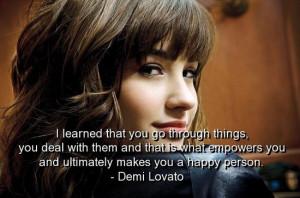 Demi Lovato Famous Quotes