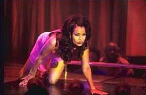 What was Lisa Raye's stage name?