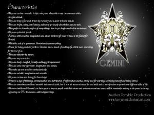 Gemini wallpaper by terryrism