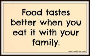 Captains' Quotes – Food