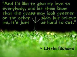 Grass is Always Greener [QUOTE]