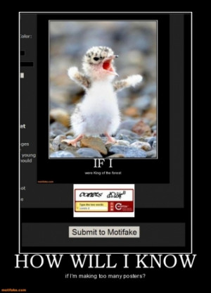 Quality Motivational Posters on Quality Demotivational Poster Page 0